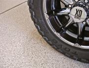 Garage Floor - Beach Tan - Wheel