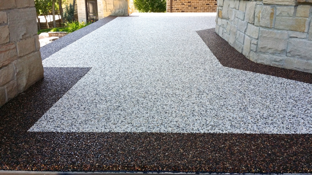 Quality Pro Solid Color W Rubber Aggregate