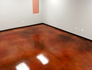 Demo Chimp - Stained Concrete Orange