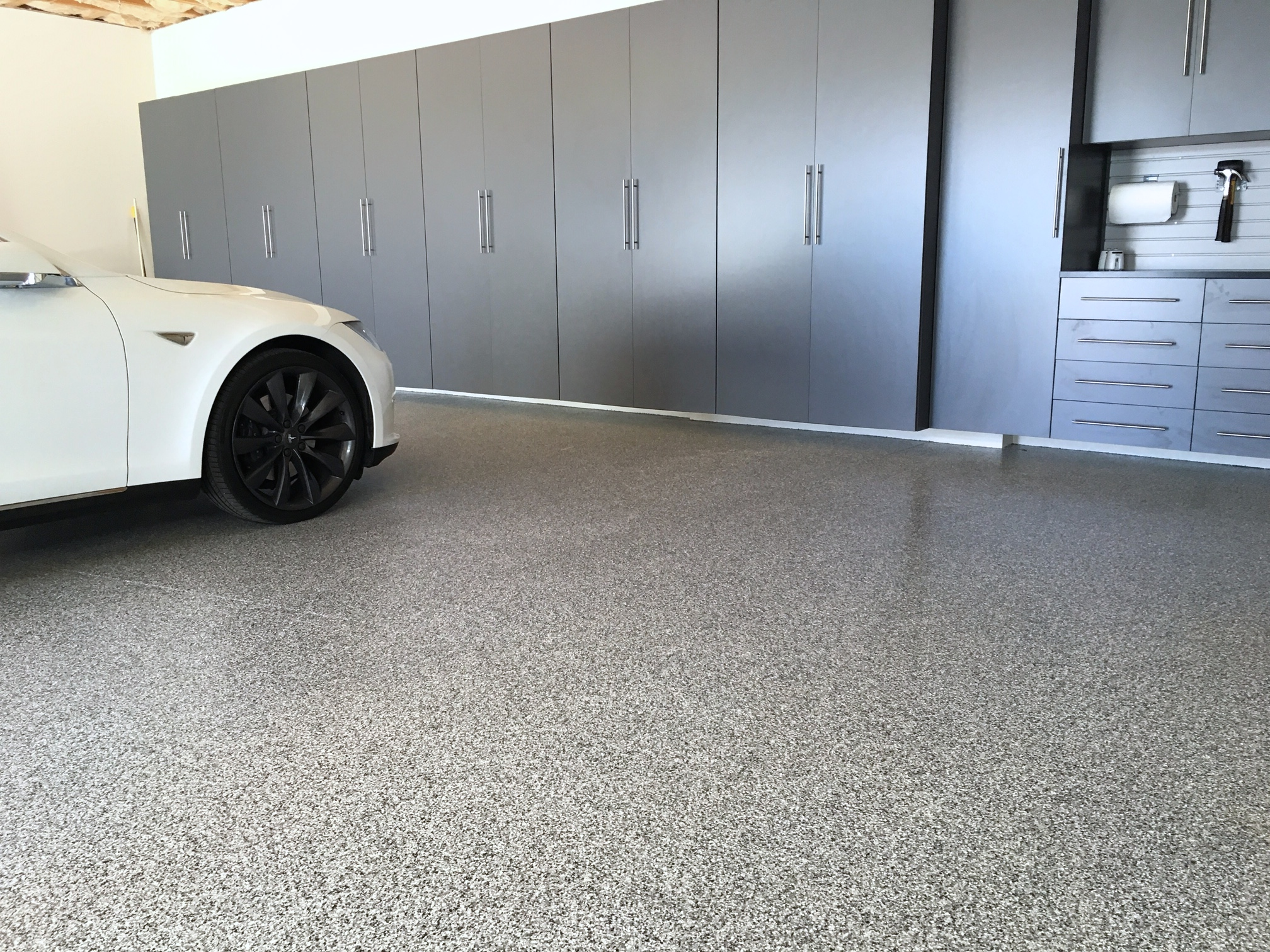 Quality Pro Epoxy Garage Floor Coating Amp Garage Cabinets