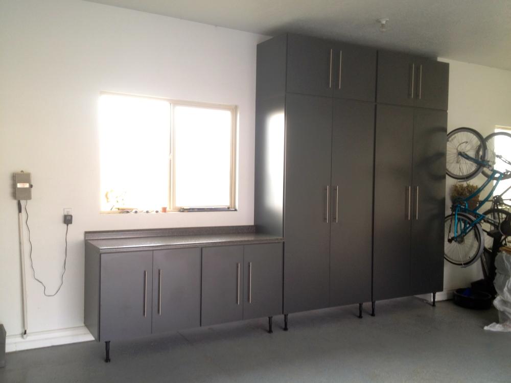 Garage Cabinets Charcoal