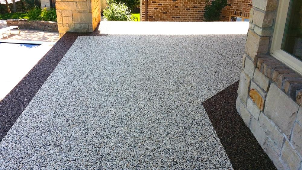 Rubber Pebble Flooring Floor Matttroy